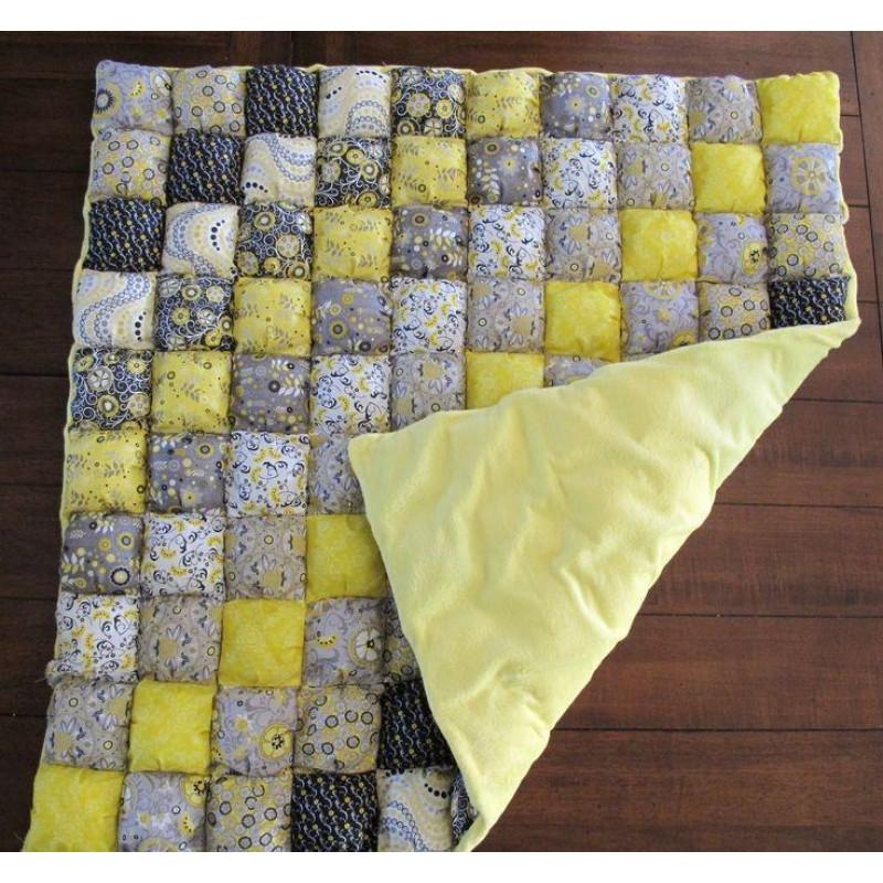 Как сшить лоскутное одеяло из ткани для пэчворка