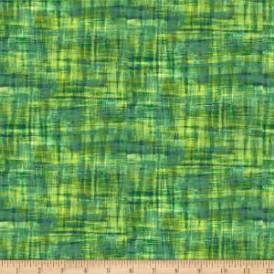 Ткань Brush Strokes Blender Green Paintbrush Studio Fabrics