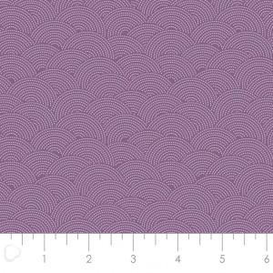 Ткань Sashiko Purple Camelot Fabrics