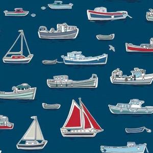 Ткань BOATS Marina Makower UK