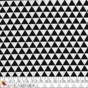 Ткань Triangles Black&White