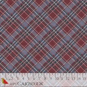 Ткань Big Checked Fabric Joann