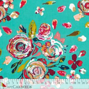 Ткань Swifting Flora Boho Art Gallery Fabrics