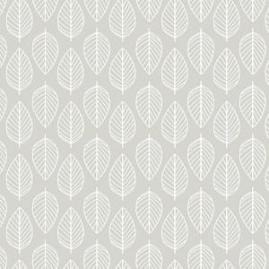 Ткань Essentials Leaf Pewter Makower