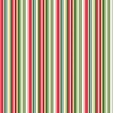 Ткань Yuletide Straight Stripe Multi Makower UK