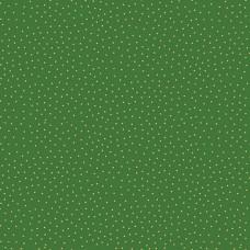 Ткань Yuletide Spot Green Makower UK