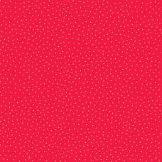 Ткань Yuletide Spot Red Makower UK