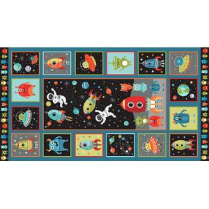 Ткань Outer Space Panel Makower