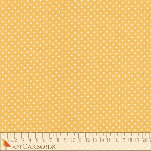 Ткань Spot Yellow Makower