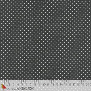 Ткань Spot Steel Grey Makower
