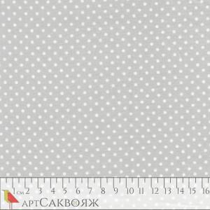 Ткань Spot New Silver Makower UK