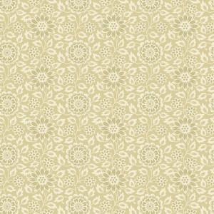 Ткань The Seamstress Stylize Flower Flax Makower UK