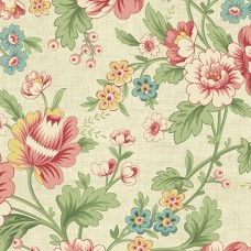 Ткань The Seamstress Dahlia Parchment Makower UK