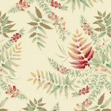 Ткань The Seamstress Fern Parchment Makower UK