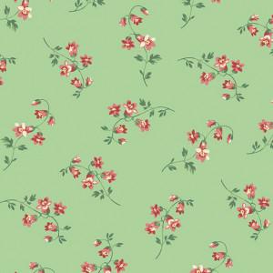 Ткань The Seamstress Silk Mint Makower UK