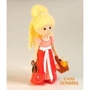 Набор для шитья куклы из фетра Фея Рукоделия