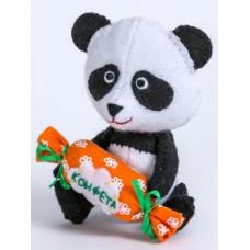 Набор для изготовления игрушки из фетра Панда