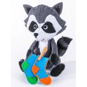 Набор для изготовления игрушки из фетра Крошка Енот