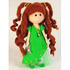 Набор для шитья куклы из фетра Лесная Фея