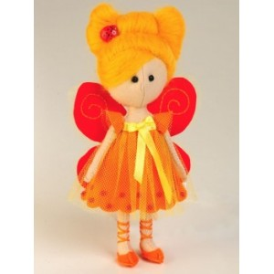 Набор для шитья куклы из фетра Фея-Бабочка