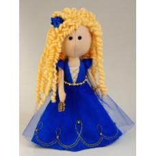 Набор для шитья куклы из фетра Златовласка