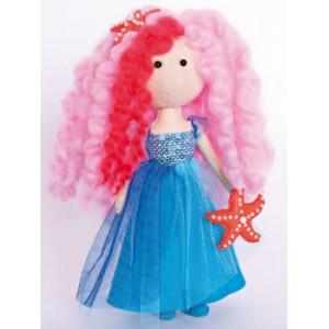 Набор для шитья куклы из фетра Морская Фея