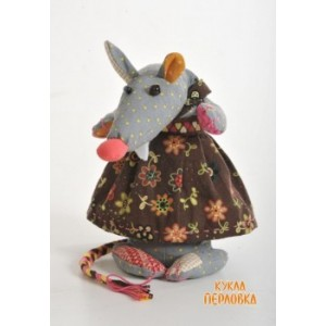 Набор для шитья текстильной игрушки Кофейная Лариска