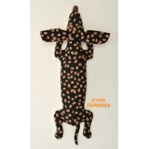Набор для шитья текстильной игрушки Кофейная Такса