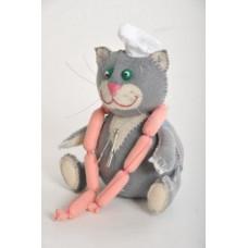 Набор для изготовления игрушки из фетра Кот Обжора