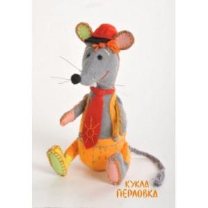 Набор для изготовления игрушки из фетра Озорной Мышонок
