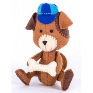 Набор для изготовления игрушки из фетра Щенок