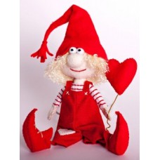 Набор для изготовления игрушки из фетра Влюблённый Гном