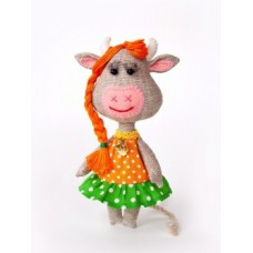 Набор для шитья текстильной игрушки Корова Бурёнка