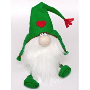 Набор для изготовления игрушки из фетра Зеленый Гном