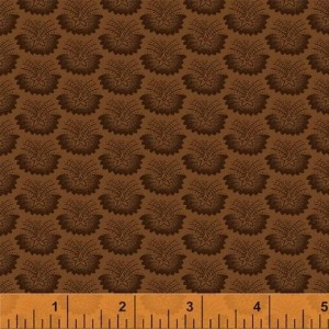 Ткань Freedom Bound Brown Starburst Windham Fabrics