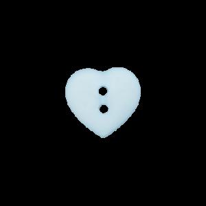 Пуговица Two-Hole Heart 15 мм