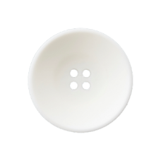 Пуговица Four-Hole White 23 мм