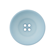 Пуговица Four-Hole Sky Blue 30 мм