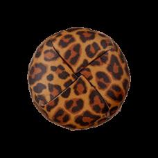 Пуговица на ножке Recycled Leopard 23 мм