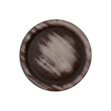 Пуговица на ножке Brown 20 мм