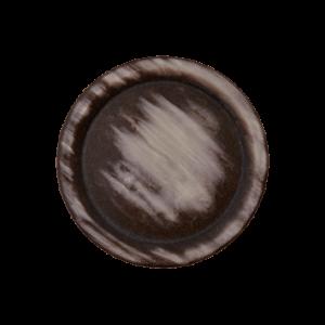 Пуговица на ножке Brown 15 мм