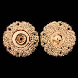 Пуговица-кнопка Metal Gold 25 мм