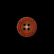 Пуговица Four-Hole Wood 11 мм