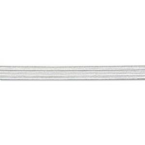 Резинка 5.3 мм, белый, PEGA