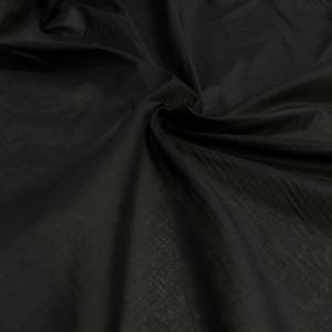 Батист хлопковый черный Dolce & Gabbana