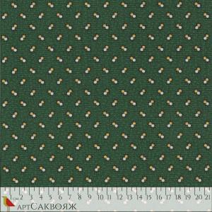 Ткань Double Spot Green Marcus Fabrics