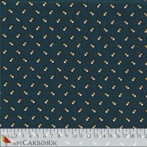 Ткань Double Spot Blue Marcus Fabrics
