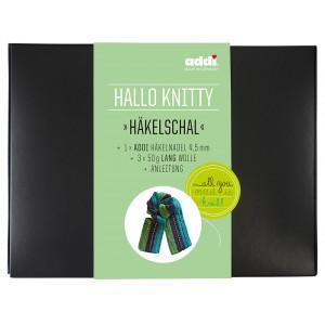 Набор для вязания шарфа Hello Knitty Haekelschal