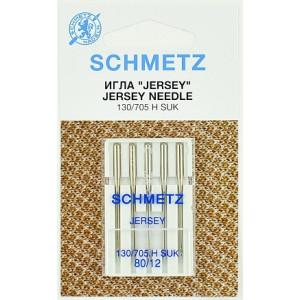 Иглы Джерси №80, 5 шт, Schmetz