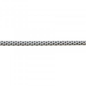 Шнур круглый светоотражающий полиэстер 0,5см, белый